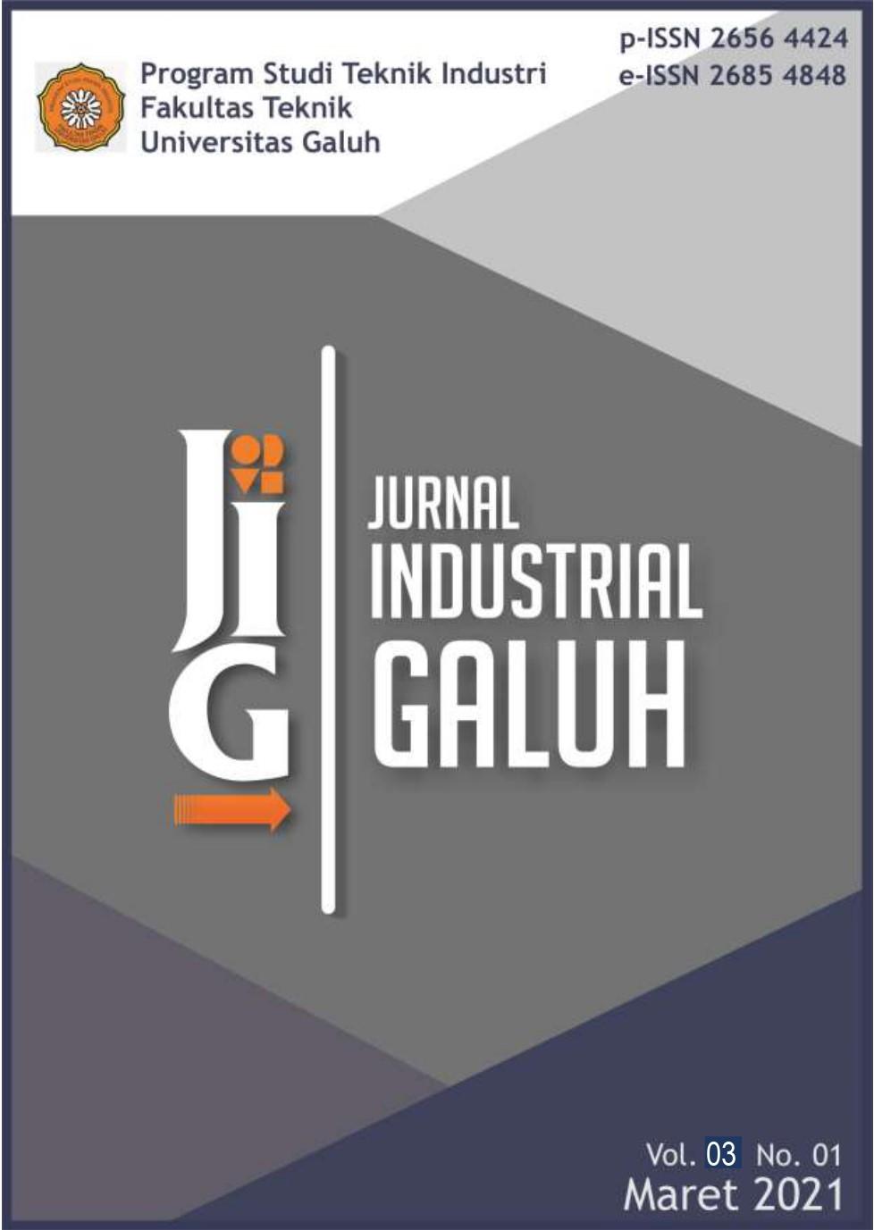 View Vol. 2 No. 01 (2021): Jurnal Industrial Galuh
